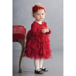 Biscotti Deck The Halls L/S Dress - Red
