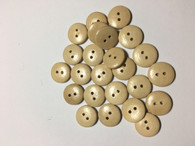 Flat Wooden Sewing Buttons