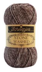 Scheepjes Stone Washed-Obsidian 829