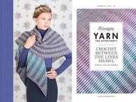 Crochet Between The Lines Shawl