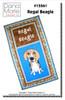 Regal Beagle Wall Quilt