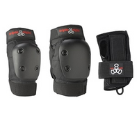Triple Eight JR Derby 3-Pack - jr sized knee , elbow and wrist guards
