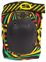 Smith Scabs Safety Gear - RASTA - Elite Knee Pads -