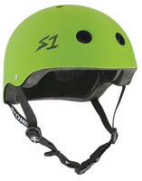 S-One Helmets -  S1 Lifer Certified Multiple Impact - Bright Green Matte s one