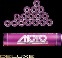 Moto Deluxe bearings ( set of 16 roller derby bearings )