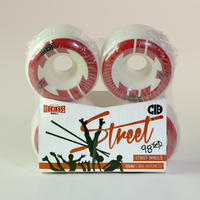 Chicks in bowls - Reckless Street Wheels 55mm 98a (set of 4)