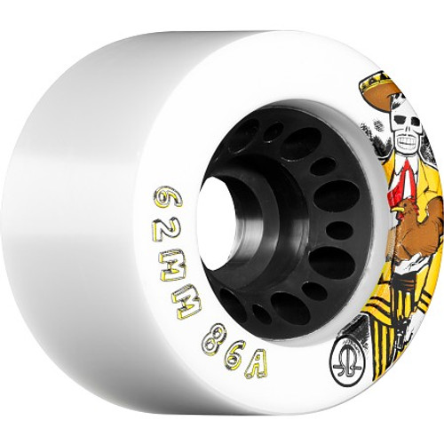Rollerbones - Day of the Dead (62x86a) Roller Derby Wheels ( 4 pack )