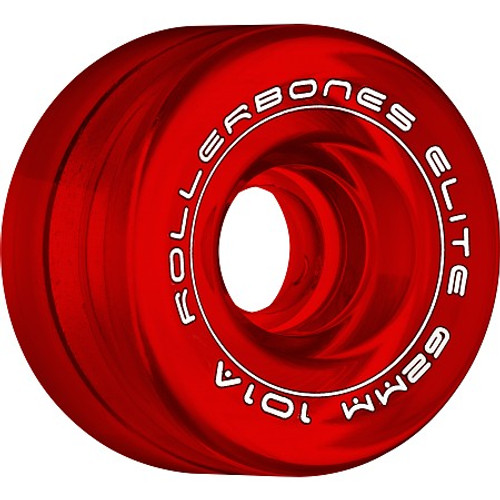 Rollerbones - Art Elite 62mm 101a Red Competition Wheels ( 8 pack )