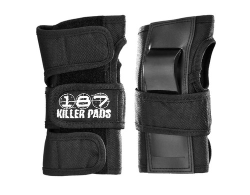 187 Killer Pads - Wrist Guards  - Black