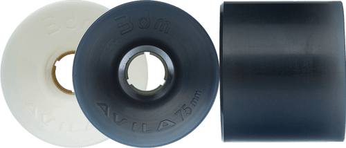 Seismic Longboard wheels - 75mm Avila Wheels – Race series (3DM-brand)