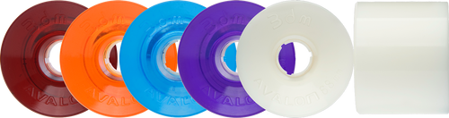 Seismic Longboard wheels -   68mm Avalon Wheels (3DM-brand)
