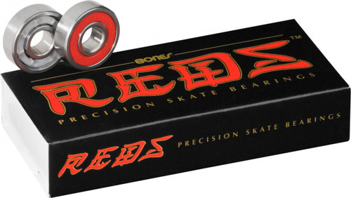 Bones Bearings - set of 16  REDS Bearings