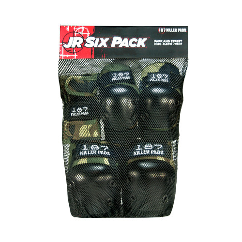 187 Killer Pads - JR SIX PACK - CAMO