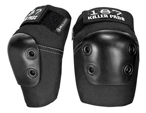 187 Killer Pads - SLIM Elbow Pads - Black