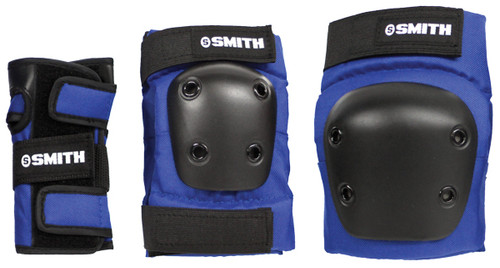 Smith Scabs Safety Gear -  YOUTH 3 PACK - BLUE