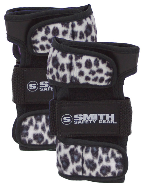 Smith Scabs Safety Gear -  WRIST GUARDS - white Leopard