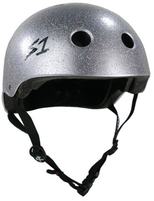 S-One Helmets -  S1 Lifer Certified Multiple Impact - Silver Glitter