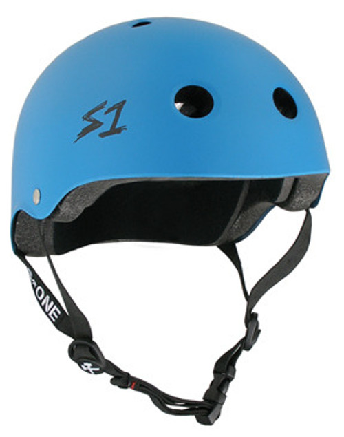 S-One Helmets -  S1 Lifer Certified Multiple Impact - Cyan Matte s one