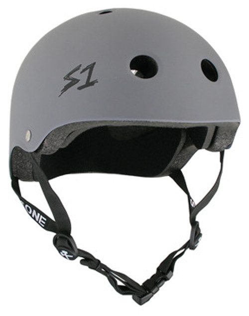 S-One Helmets -  S1 Lifer Certified Multiple Impact - Grey Matte s one