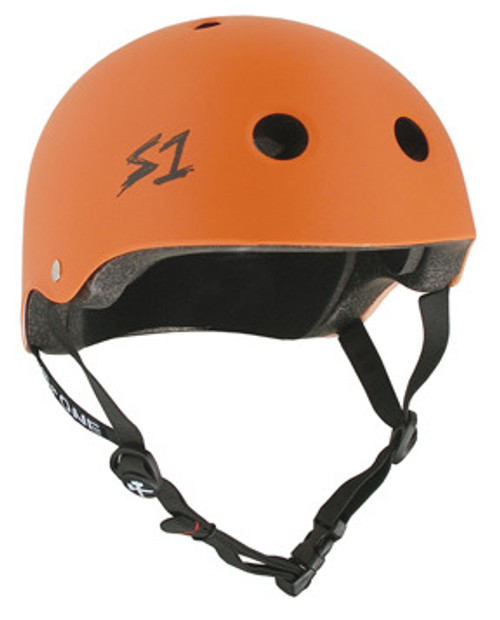 S-One Helmets -  S1 Lifer Certified Multiple Impact - Orange Matte s one