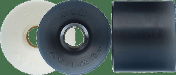 Seismic Longboard wheels - 75mm Avila Wheels – Race series (3DM-brand)
