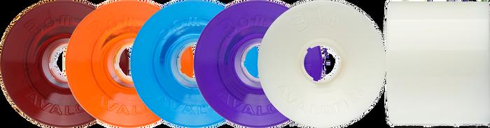 Seismic Longboard wheels -   68mm Avalon Wheels (3DM-brand)