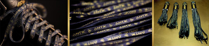 Antik waxed skate laces