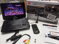"RCA - DPDM95R - 9"" Portable TV/DVD Player W/ Remote, Antenna, SD & USB Inputs"