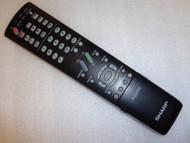 Sharp Remote GA600WJSA for LC-32D64 LC-37D64 LC32HT2 LC-42D64 LC-46D64U - Used