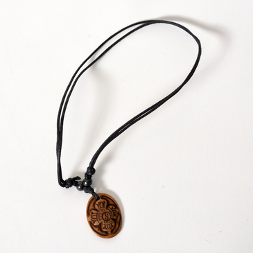 Double Dorje Bone Necklace