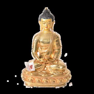 Gold Plated Buddha