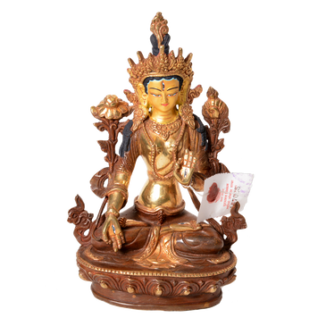Gold Plated White Tara