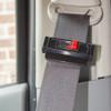 Seat Belt Tension Adjuster black in use
