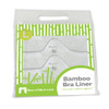 More of Me to Love Bamboo Bra Liners White Packaged