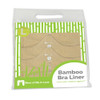 More of Me to Love Bamboo Bra Liners Beige Packaged