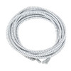 Stretch Elastic Shoelaces Curled White