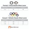 Stretch Elastic Shoelaces