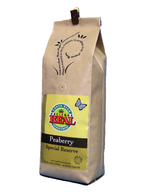 Peaberry Coffee Artisan Roasted Hacienda Real