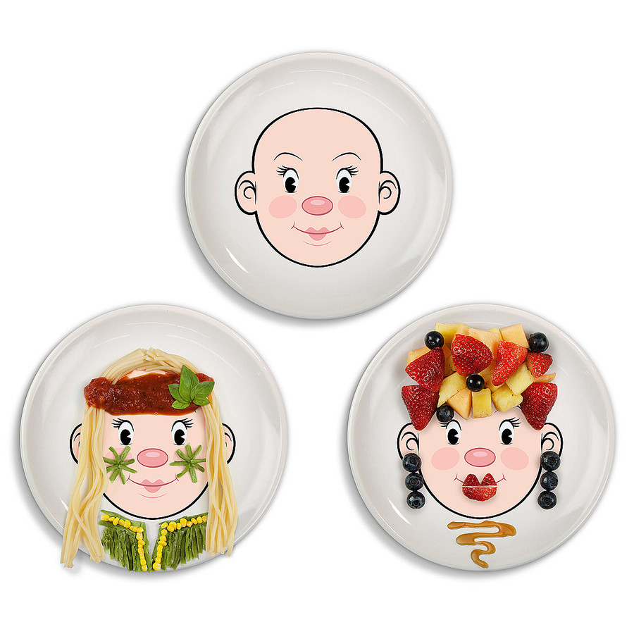 Mr. Food Face Plate