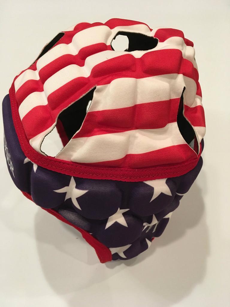 American Rucker Flag Head Guard