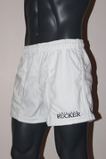 American Rucker Rugby Shorts - White with Pockets