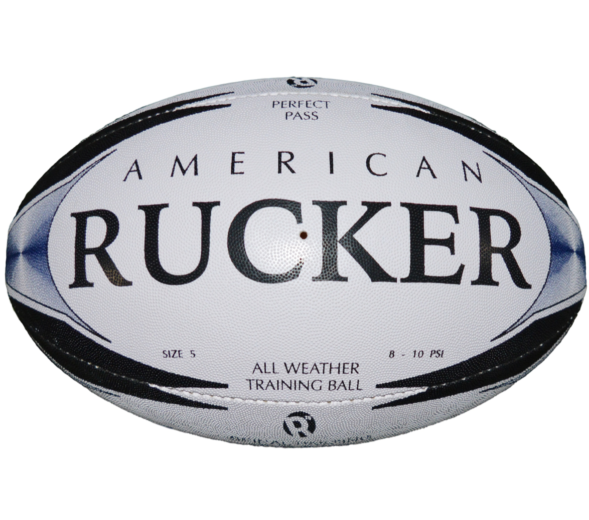 American Rucker Night Rucker Pink And Blue Rugby Ball