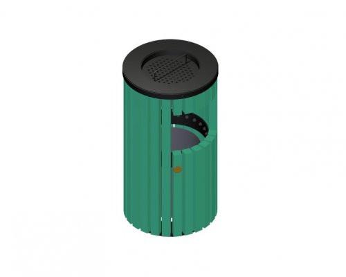 Public Place Trash Receptacle/Ashtray