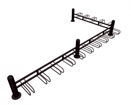 "98"" Stoneham Bike Rack 5 Places"