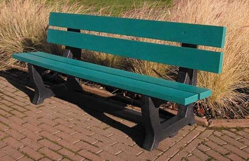 "6' Park Series Bench ""Deco"""