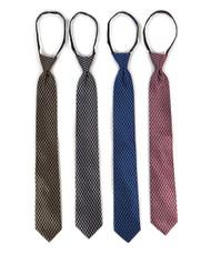 Micro Woven Zipper Ties - MPWZ5401