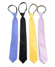 Micro Woven Zipper Ties - MPWZ5402