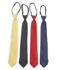Micro Woven Zipper Ties - MPWZ5403