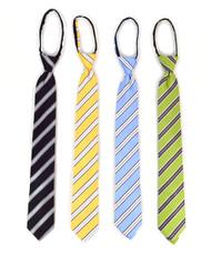 Micro Woven Zipper Ties - MPWZ5413