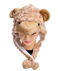 Animal Fleece Hats - Sheep HATCW111231